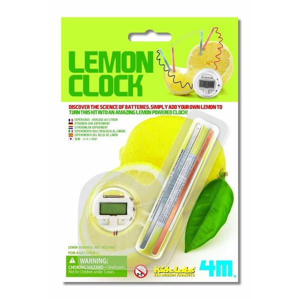 Toysmith Toysmith: Lemon Clock