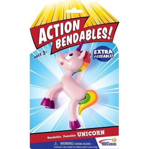 Toysmith: Unicorn Bendable