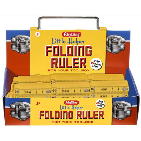 Schylling: Little Helper Folding Ruler
