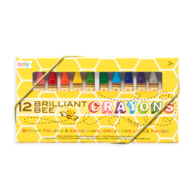 Ooly Ooly: Brilliant Bee Crayons Set of 12