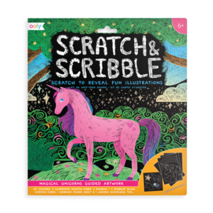 Ooly Ooly: Scratch & Scribble-Magical Unicorns