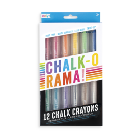 Ooly Ooly: Chalk-o-rama Chalk Crayons Set of 12