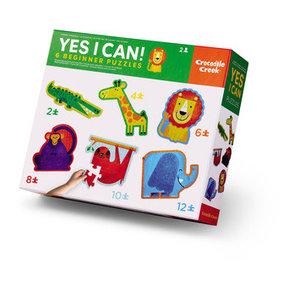 Crocodile Creek Crocodile Creek: Jungle/ Yes I Can! 24 pc Puzzle
