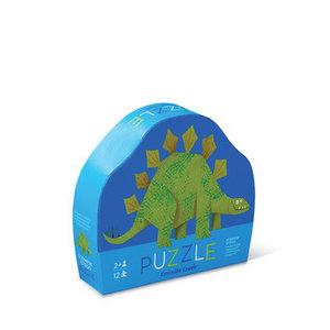 Crocodile Creek Crocodile Creek: 12pc Mini Puzzle/Stompin' Stego