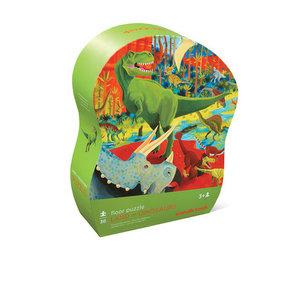 Crocodile Creek Crocodile Creek: 36 pc Shaped Puzzle/Land of Dinosaur