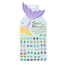 Great Pretender Great Pretenders: Mermaid Sticker Earrings Card