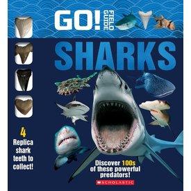 Scholastic Scholastic:  Go! Field Guide: Sharks