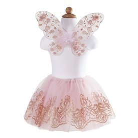 Great Pretender Great Pretenders: Rose Gold Tutu & Wings Set