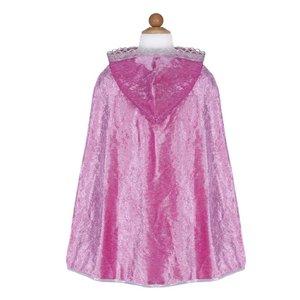 Great Pretender Great Pretenders: Diamond Sparkle Cape Dark Pink 5-7