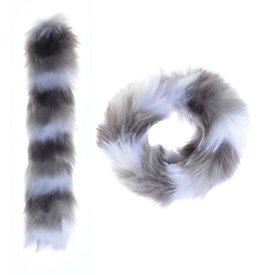 Watchitude Watchitude: Zebra Stripes Fuzz'd Slap Bracelet