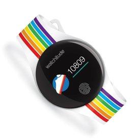 Watchitude Watchitude: Rainbow Stripes Watchitude Move 2 Activity Watch