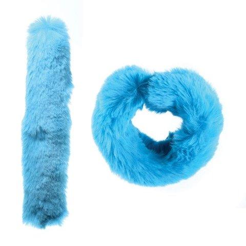 Watchitude: Blue Raspberry Fuzz'd Slap Bracelet