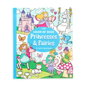 International Arrivals Ooly: Color-in Book Princesses & Fairies