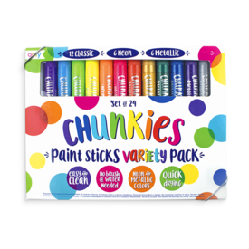 Ooly Ooly: Chunkies 24 Pack