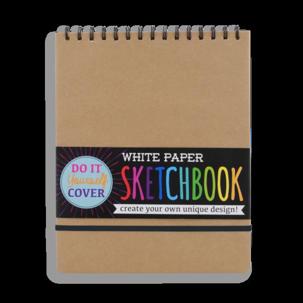 Ooly Ooly: DIY White Paper Sketchbook - Large