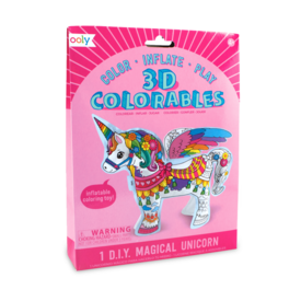 Ooly Ooly: 3D Colorables - Magical Unicorn