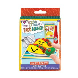 Fashion Angels Fashion Angels: Extra Small Taco Dinner Mini Clay Kit