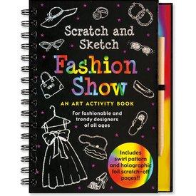 Peter Pauper Peter Pauper: Scratch & Sketch Fashion Show