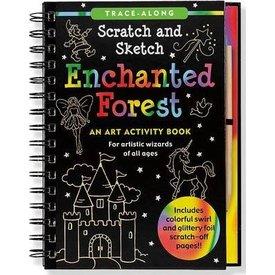 Peter Pauper Peter Pauper: Scratch & Sketch Enchanted Forest