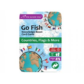 Purple Cow Purple Cow: Go Fish - Countries, Flags and More