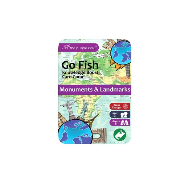Purple Cow Purple Cow: Go Fish - Monuments and Landmarks