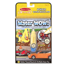 Melissa & Doug M&D: Water Wow! - Vehicles