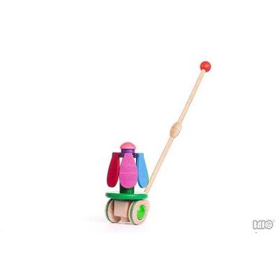 Little Poland Gallery Little Poland: Flower Rainbow Push Toy