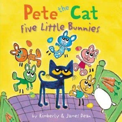 HarperCollins HarperCollins: Pete the Cat Five Little Bunnies