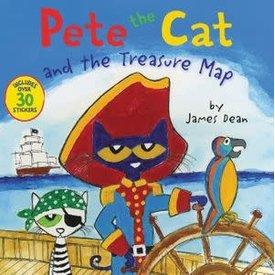 HarperCollins Harpercollins: Pete the Cat and the Treasure Map
