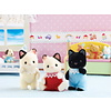 Calico Critters: Tuxedo Cat Triplets
