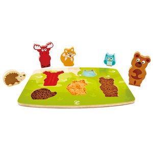 Hape Hape: Tactile Puzzle-Forest Animals