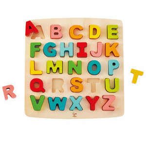 Hape Hape: Chunky Alphabet Puzzle