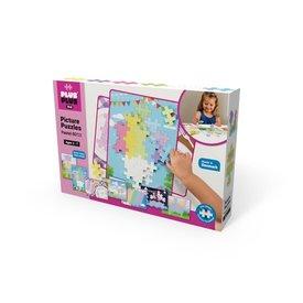 Plus Plus PlusPlus: BIG Picture Puzzles Pastel