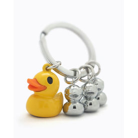 Wishbonne Wishbonne: Family Duck Keyring