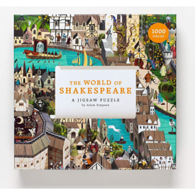 Hachette Mudpuppy: Shakespeare Jigsaw Puzzle