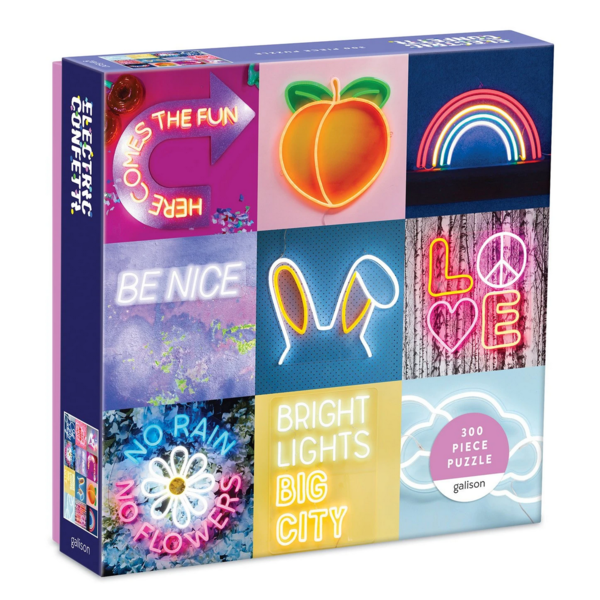 Chronicle Chronicle: Electric Confetti 300pc Puzzle
