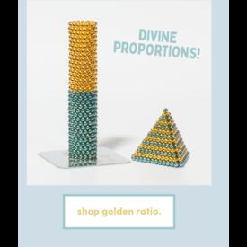 Speks Speks: Stripes Golden Ratio