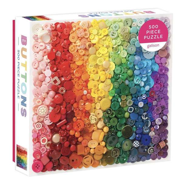 Chronicle Chronicle: Rainbow Buttons 500pc Puzzle