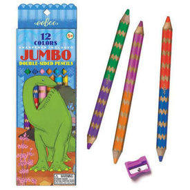 eeBoo Eeboo: Dinosaur 6 Double Sided Pencils