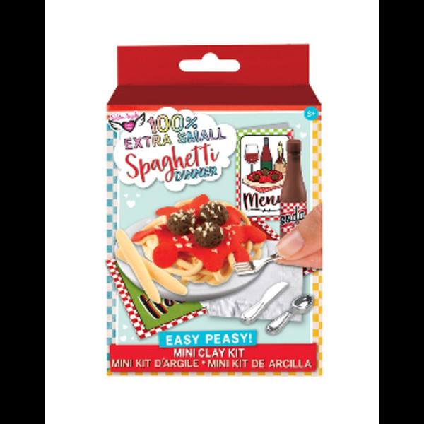 Fashion Angels Fashion Angels: Extra Small Spaghetti Dinner Mini Clay Kit