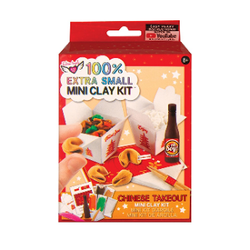 Fashion Angels Fashion Angels: Extra Small Chineese Take Out Mini Clay Kit