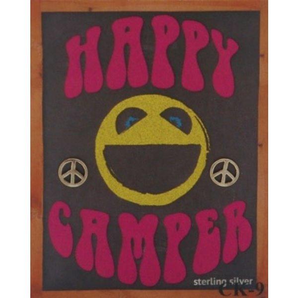 Semaki & Bird Semaki & Bird: Peace Happy Camper Earrings