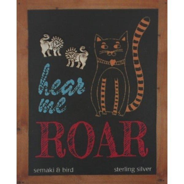 Semaki & Bird Semaki& Bird: Lion Hear Me Roar Earrings