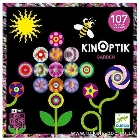 Djeco: Kinoptik Garden 107 pcs