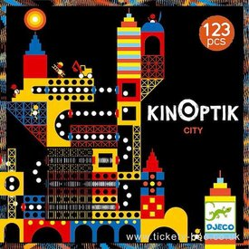 Djeco Djeco: Kinoptik City 123 pcs