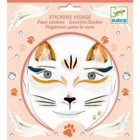 Djeco Djeco: Cat Face Stickers