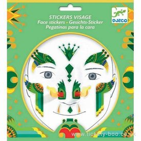 Djeco Djeco: Dragon Face Stickers