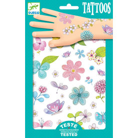 Djeco Djeco: Fair Flowers of the Fields Tattoos