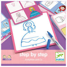 Djeco Djeco:  Step By Step Josephine And Co.