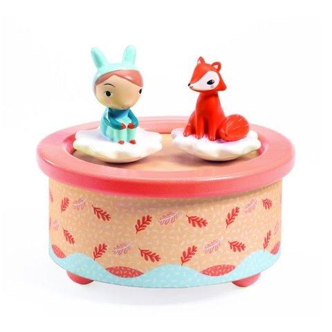 Djeco: Music Boxes Fox Melody